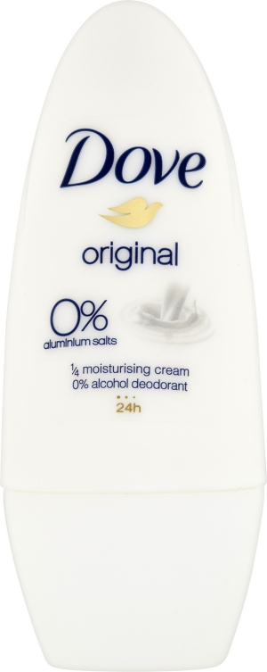 DOVE Alu-free Deo roll-on Original for Women Antiperspirant 50 ml